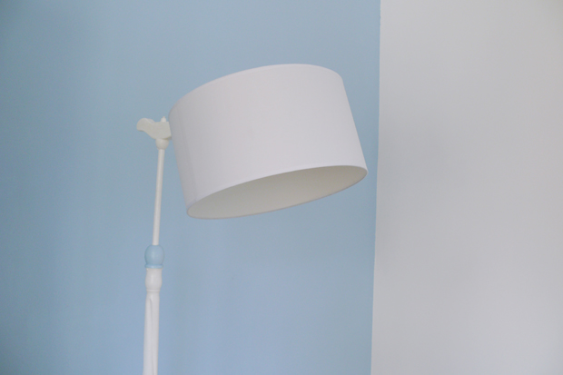 deco-chambre-bleue-pastel-lampe-vintage-repeinte Jeune Maman écolo ...