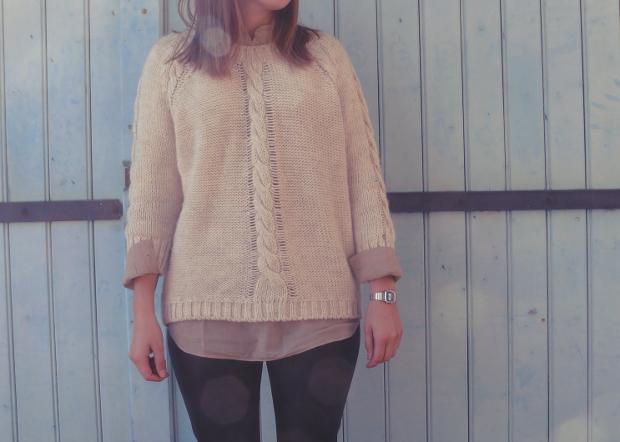 Blog mode american vintage pull laine zara legging cuir for Zara haute savoie