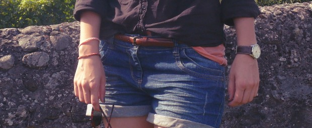blog-mode-short-jean-american-vintage-corail-rayban-clubmaster