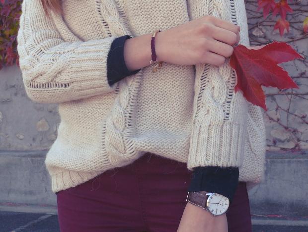 Pull zara maille bracelet bordeaux quotidien de jeune for Zara haute savoie