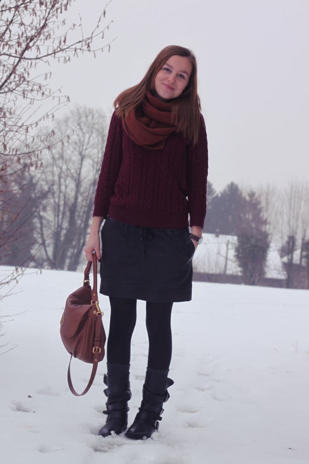 Bevorzugt fashion-blog-jupe-mango-cuir-bottes-kriminel-maje Quotidien de  UR54