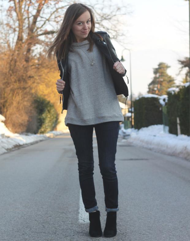 Skinny jeans sweat zara perfecto cuir blog de mode for Zara haute savoie
