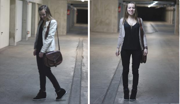 Sneakers tendance nike dunk sky noires veste zara bikcers for Zara haute savoie