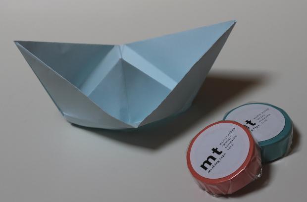 Bateau Origami Tuto Blog Masking Tape Diy Deco Vintage Touch Blog