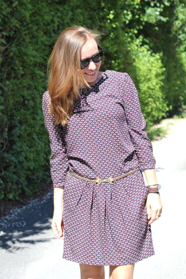 Style Vintage Femme Robe