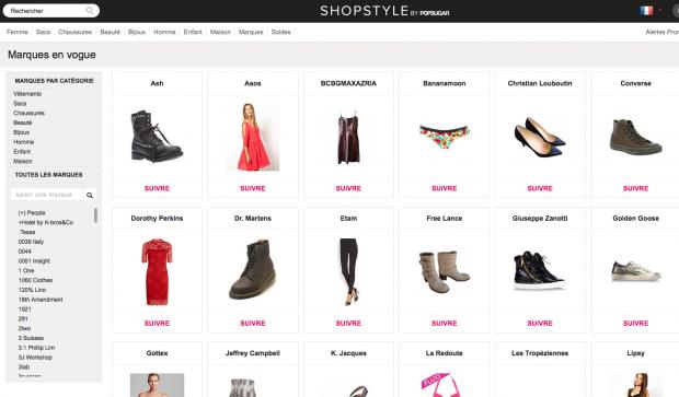 Shopping En Ligne Shopstyle Blog Mode Avis Blog Mode