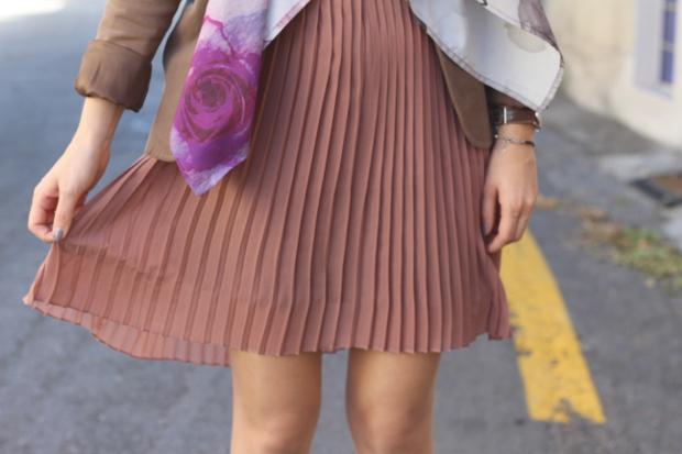 robe-kling-vieux-rose-blazer-zara-blog-mode