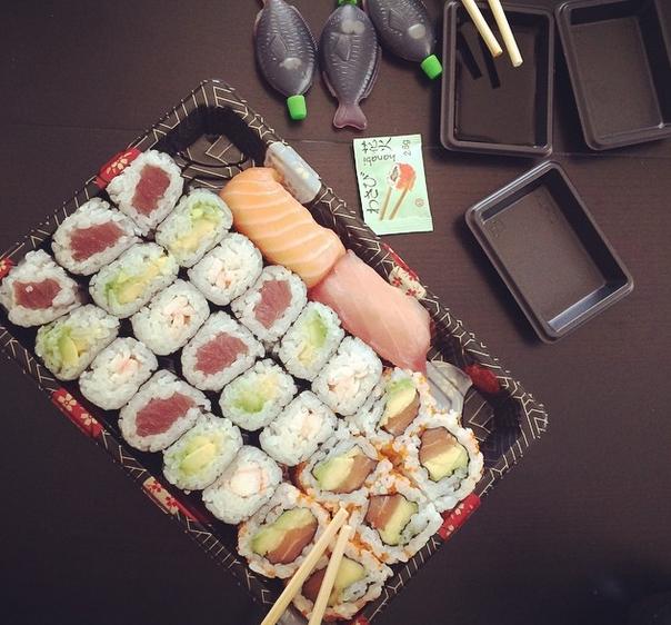 sushi-maki-girly-night