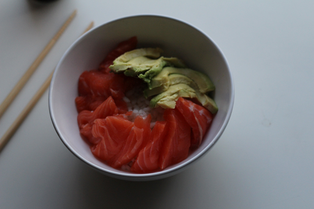 Food Chirashi Saumon Avocat By Vintage Touch