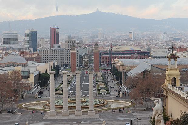 barcelona-vue-place-espanya