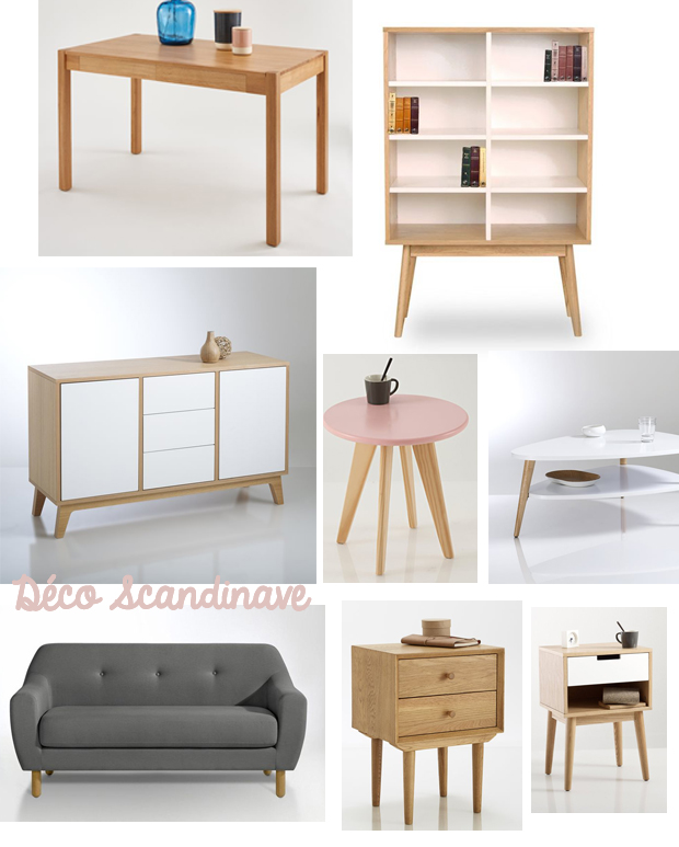 decoration interieur scandinave. Black Bedroom Furniture Sets. Home Design Ideas
