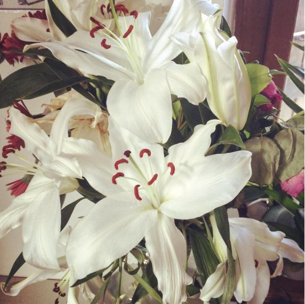 bouquet-lys