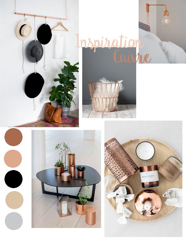 deco chambre cuivre. Black Bedroom Furniture Sets. Home Design Ideas